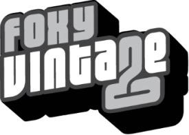 Foxy Vintage Fashion Description Writer